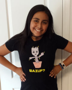 Wazup Groot T-Shirt Design