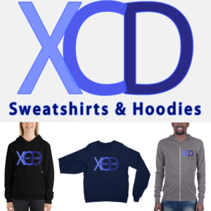 xcd sweatshirts & hoodies logo