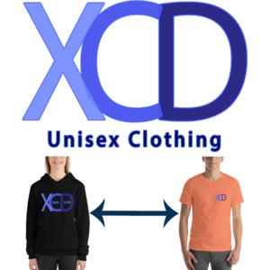 xcd unisex logo